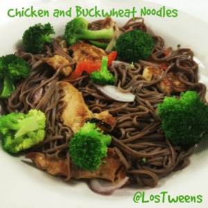 Chicken and Buckwheat Noodle Recipe