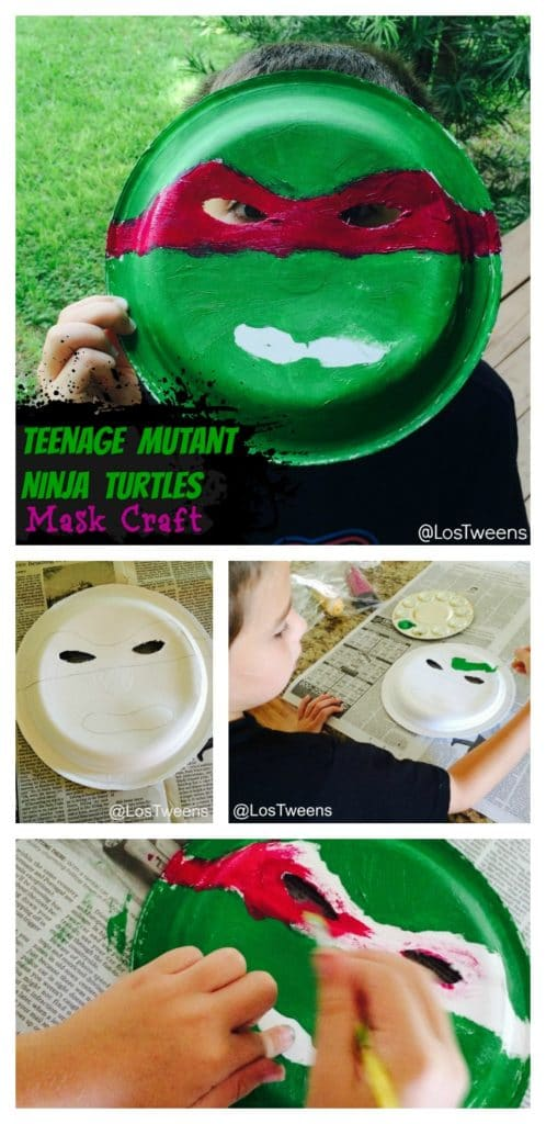 TeenageMutantNinjaTurtlesMaskCraftPinterest