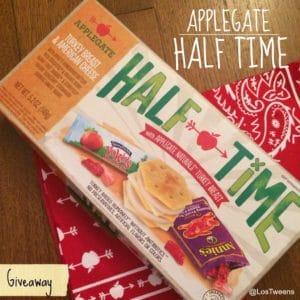 Half Time Giveaway