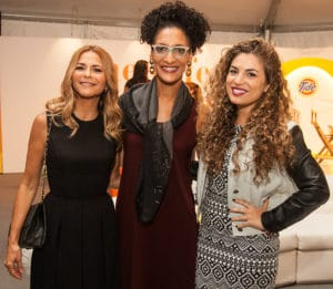 Irma Martinez, Carla Hall and Jessi Leon