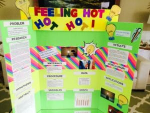Sophia - Science Fair Project