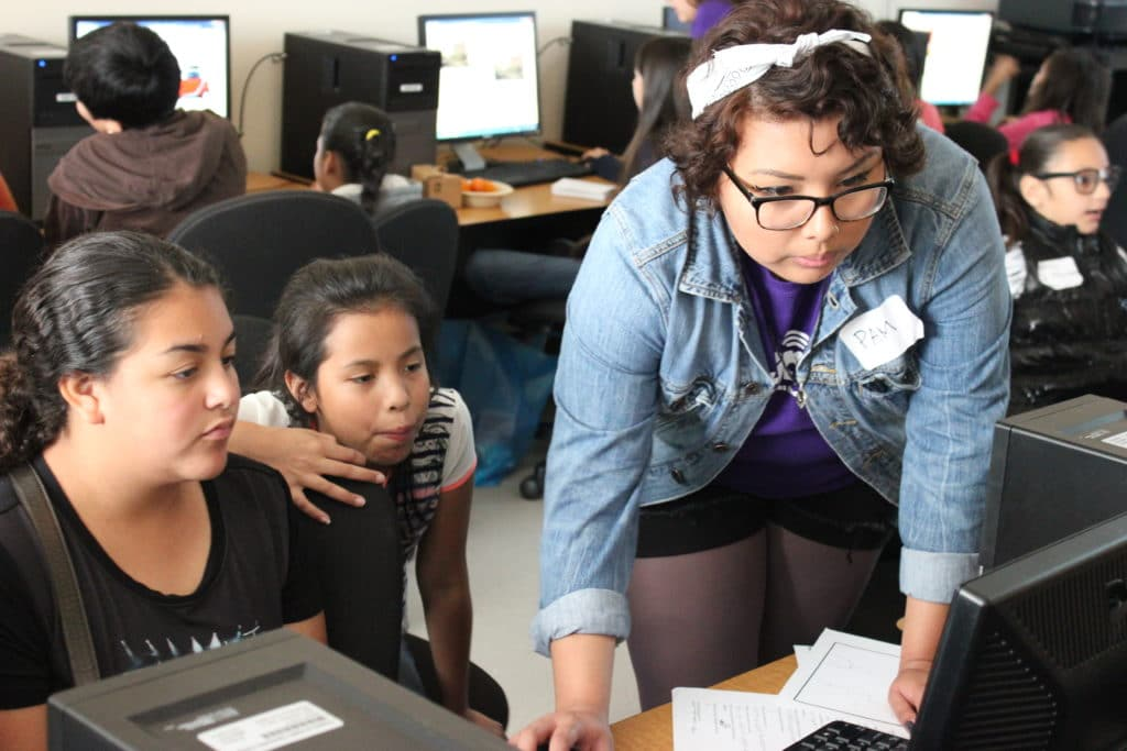 Latinita's Code Chica event was held on April 18th at Austin Community College Eastview Campus.
