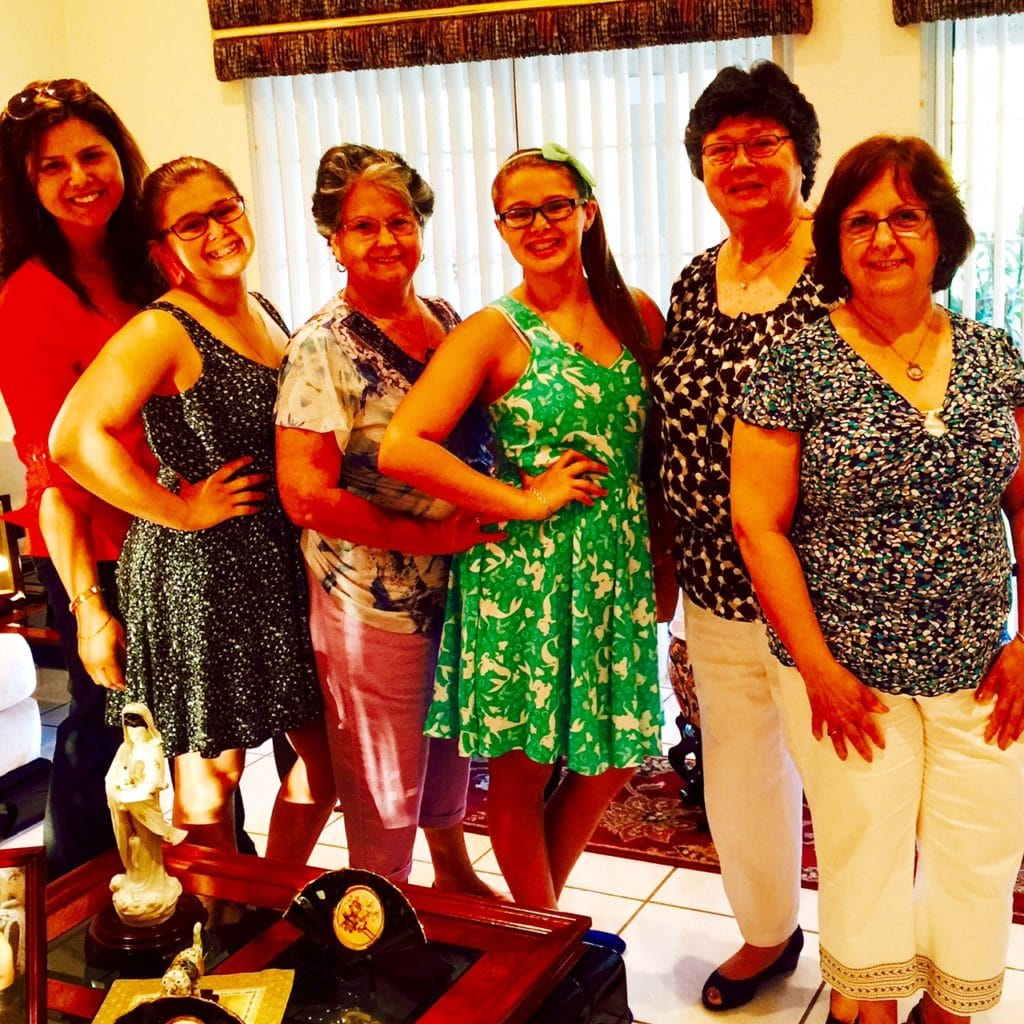 My Tias & Mama have helped me raise girls who are Orgullosa of their culture and heritage.