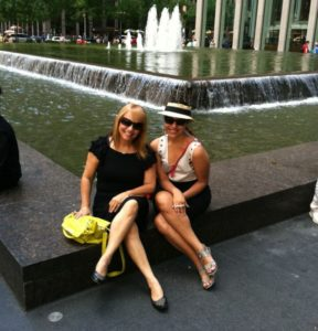 My beautiful mami and I  in NYC, 2013