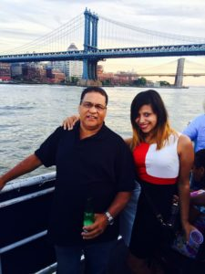 Anllelic Lozada and dad NYC
