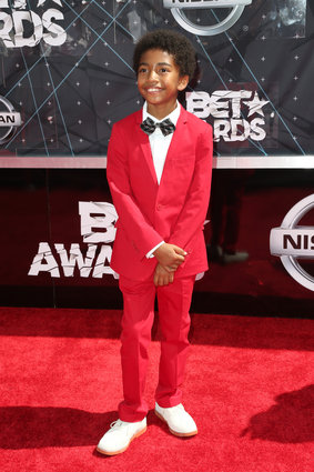 Actor Miles Brown (Photo by Frederick M. Brown/Getty Images for BET)