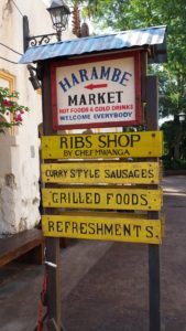 """Harambe Market"" in Disney's Animal Kingdom"
