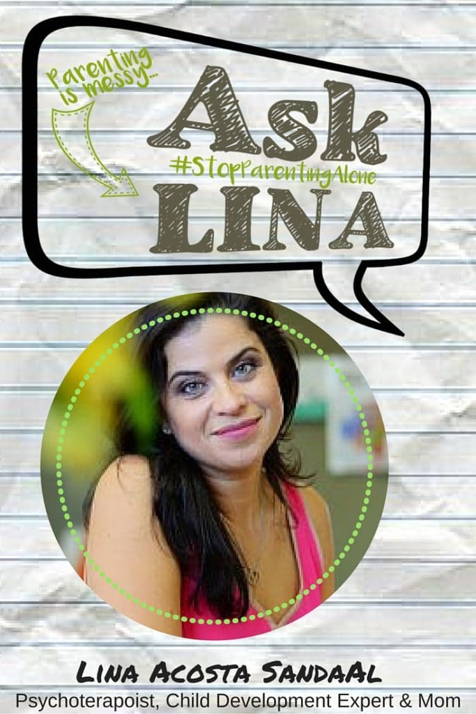 Lina Acosta Sandaal Stop Parenting Alone