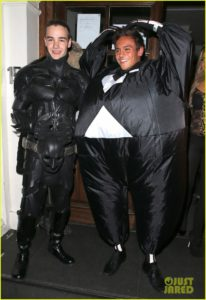 One Direction's Liam Payne & Tom Daley in 2012 Halloween.