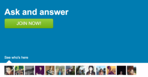 "ASKfm is a ""question & answer"" social network."