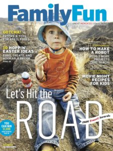 TOP U.S. FAMILY VACATION DESTINATIONS ANNOUNCED IN 4TH ANNUAL FAMILYFUN MAGAZINE TRAVEL AWARDS. PHOTO: FAMILYFUN MAGAZINE