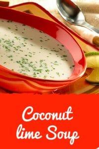 Coconut Lime Soup