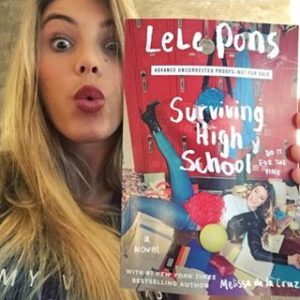 "Lele Pons and her new novel, ""Surviving High School"""