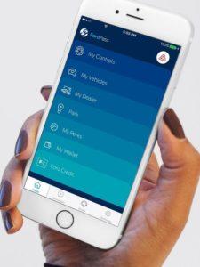 Fordpass incluye una aplicacion para que puedas elegir las opciones de manera fácil.