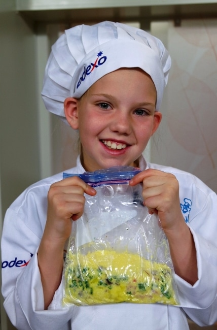 Madysun Christensen, National Winner of 2016 Sodexo Future Chefs: Healthy Breakfast Challenge
