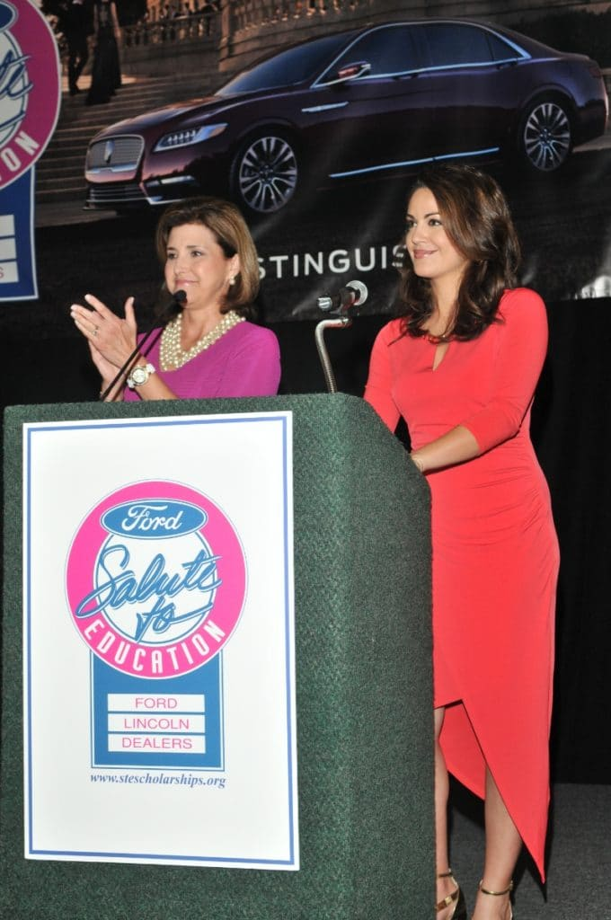 Emcees at Salute to Education Event in Ford's event in South Florida