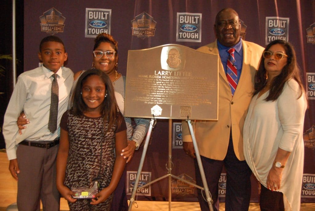 Larry Little and Family