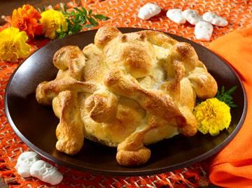 Pan de Muerto Dia de los Muertes receta
