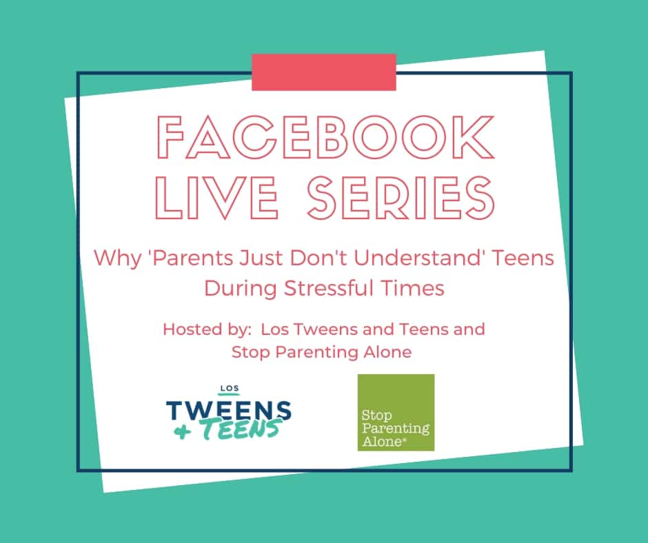 """Why """"Parents Just Don't Understand"""" Teens LIVE Chat Series"""